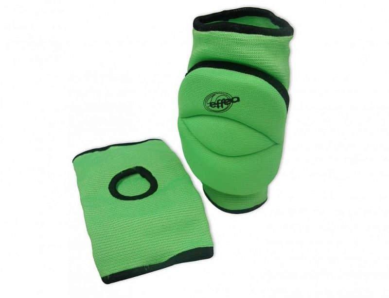 Chrániče kolen EFFEA 6644 SENIOR sv. zelené - Světle zelená