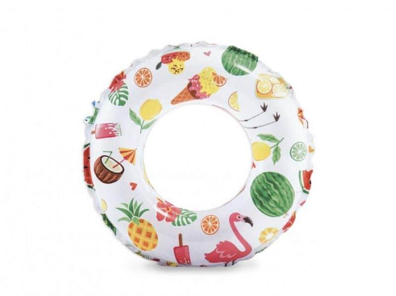 Kruh plavecký INTEX 59241 61cm MOŘSKÝ POTISK - Dobroty