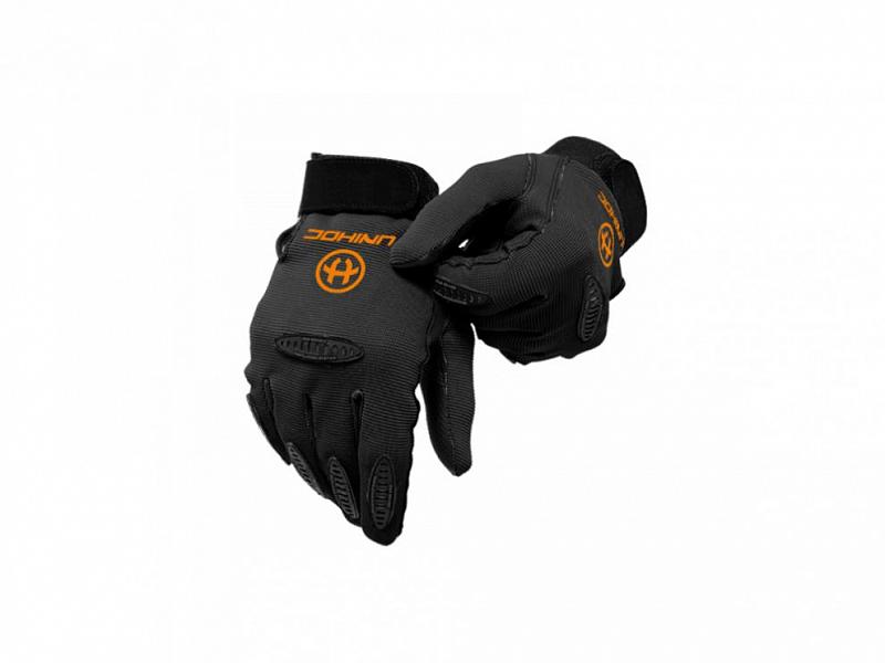 Florbalové brankářské rukavice UNIHOC PACKER - Velikost S/M