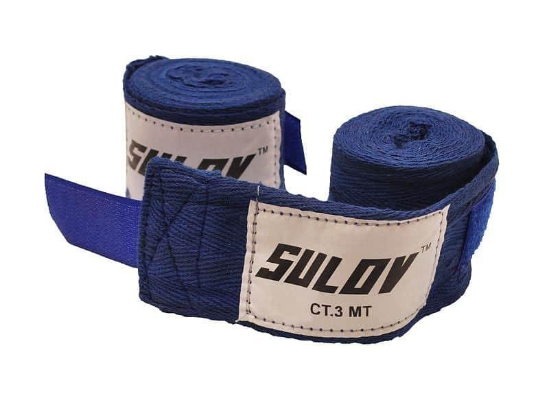 Box bandáž SULOV bavlna 4m, 2ks, modrá
