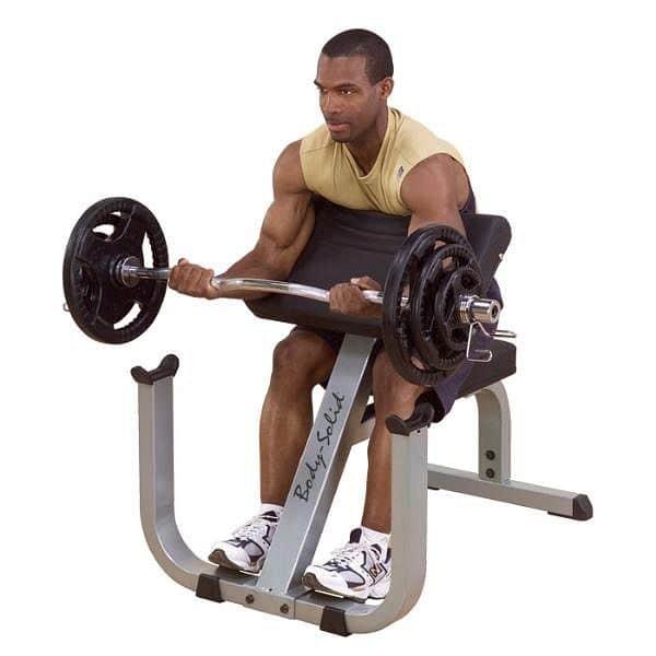 Posilňovač bicepsov Body-Solid Curl Bench
