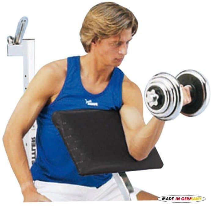 Kettler opierka na biceps pre lavice Delta a Delta XL