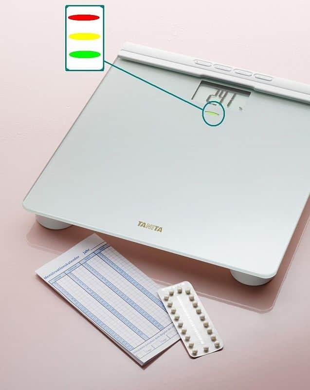 Osobní digitální váha pro ženy Tanita FiTPlus BC-582