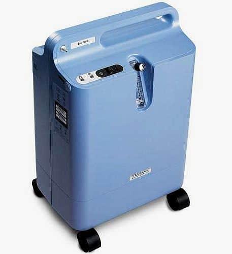 Kyslíkový koncentrátor Everflo - servis u zákazníka