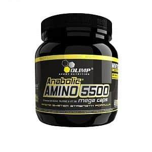 Aminokyseliny Anabolic Amino 5500 - VÝPREDAJ