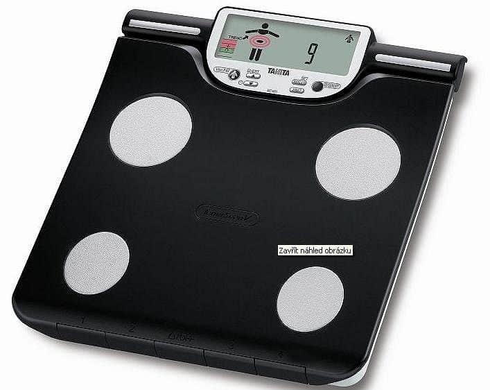 Osobní digitální váha se slotem pro SD kartu Tanita BC-601