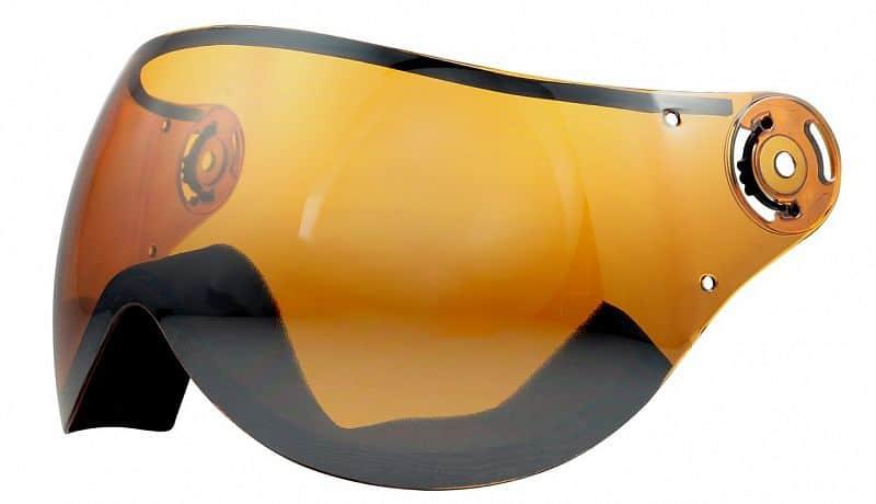 Levně Lyžařská přilba SULOV DELTA náhradní štít, oranžovo-stříbrný
