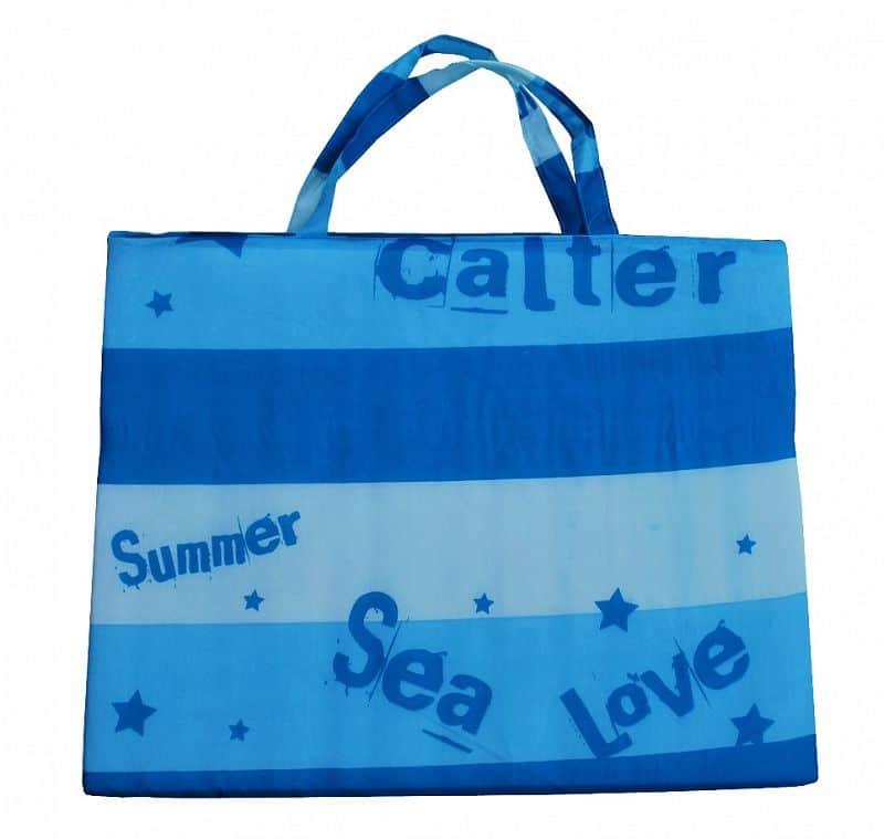 Plážové lehátko CALTER, modré