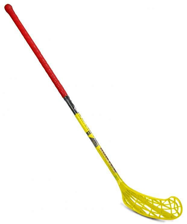 Florbal hůl HUNTER 95 cm Sedco levá oranžovo/žlutá