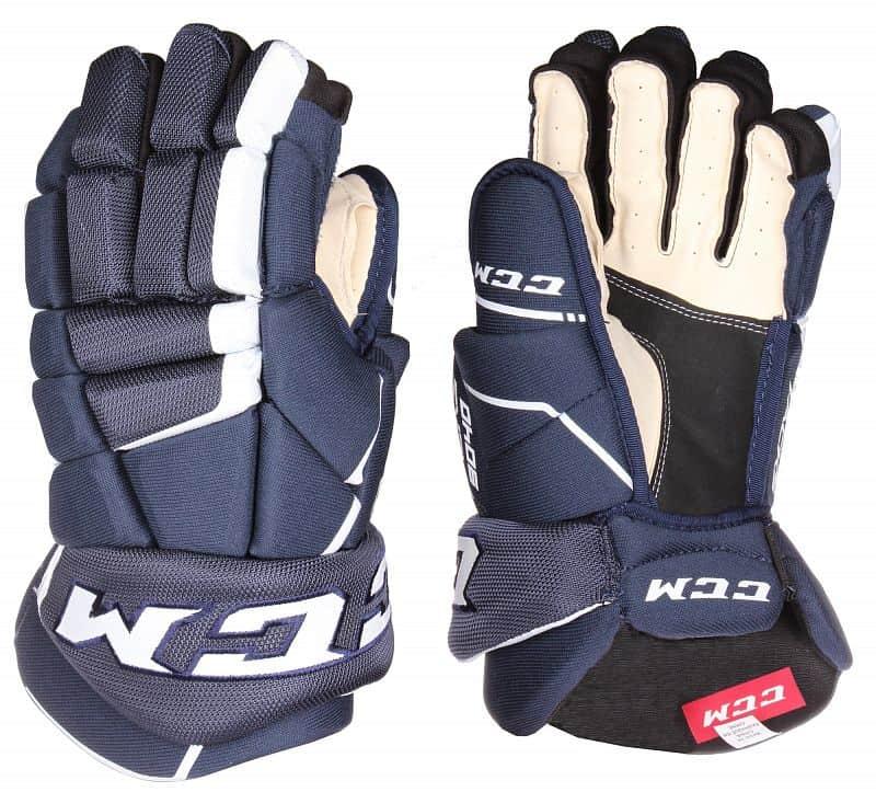 "Tacks 9040 JR hokejové rukavice barva: modrá;délka: 12"""