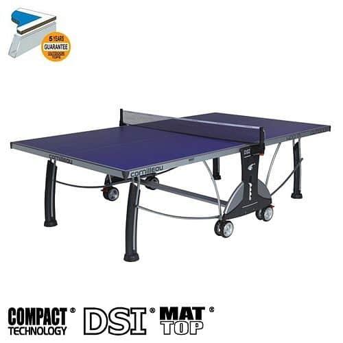 Stůl na stolní tenis CORNILLEAU Sport 400M outdoor modrý