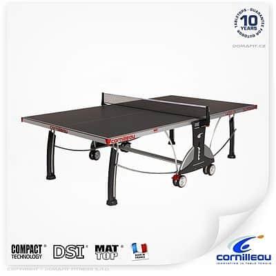 Stôl na stolný tenis CORNILLEAU Šport 400M outdoor modrý