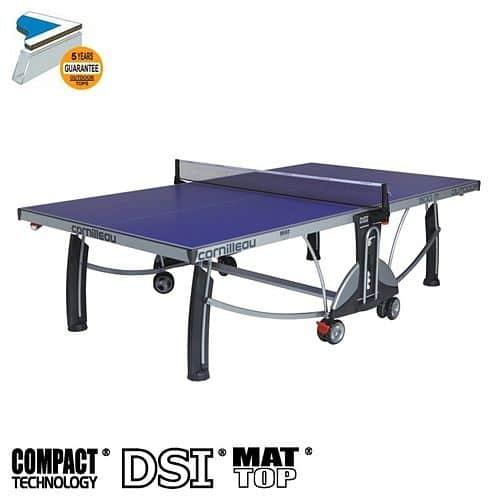 Stůl na stolni tenis CORNILLEAU Sport 500M outdoor modrý