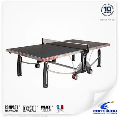 Stôl na stolný tenis Cornilleau Sport 500M outdoor modrý