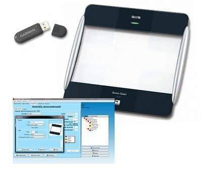 SET - Tělesný analyzátor s přenosem dat Tanita BC - 1000, vyhodnocovací software GMON pro BC a UM a ANT+USB