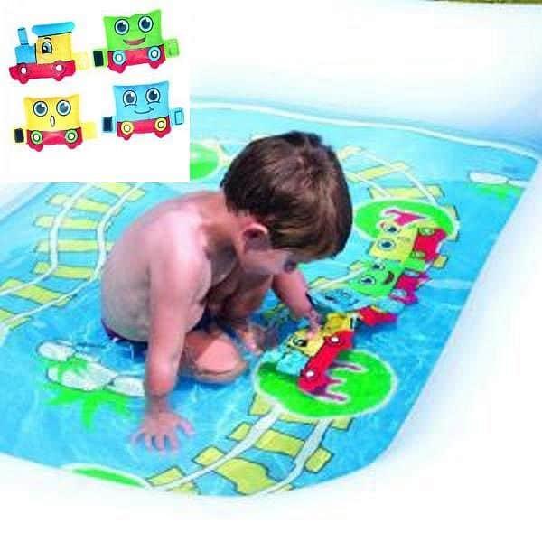 Nafukovací bazén BESTWAY 1-2-3 Vlak 200 x 150 cm