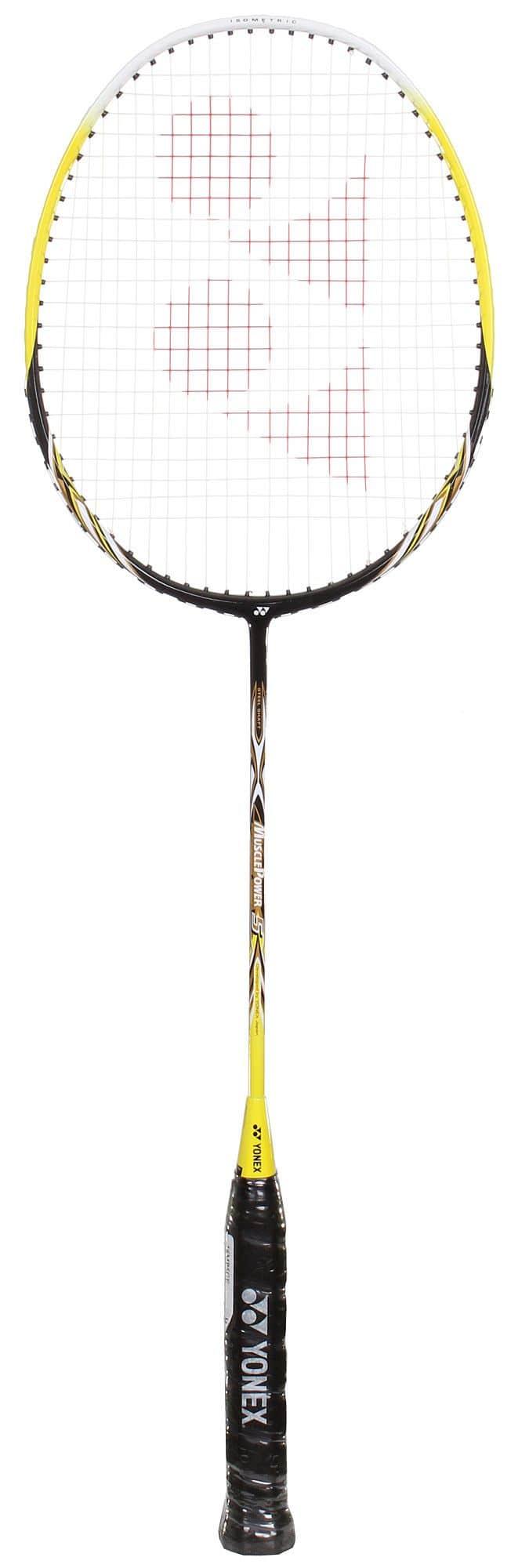 Muscle Power 5 badmintonová raketa barva: černá-žlutá