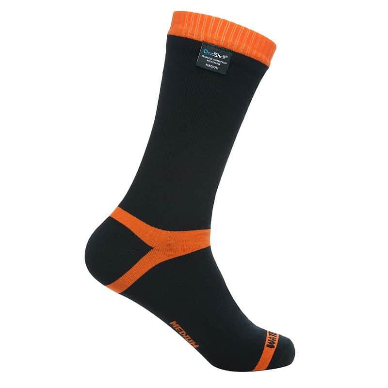 Nepromokavé ponožky DexShell Hytherm PRO Barva Tangelo Red Stripe, Velikost XL