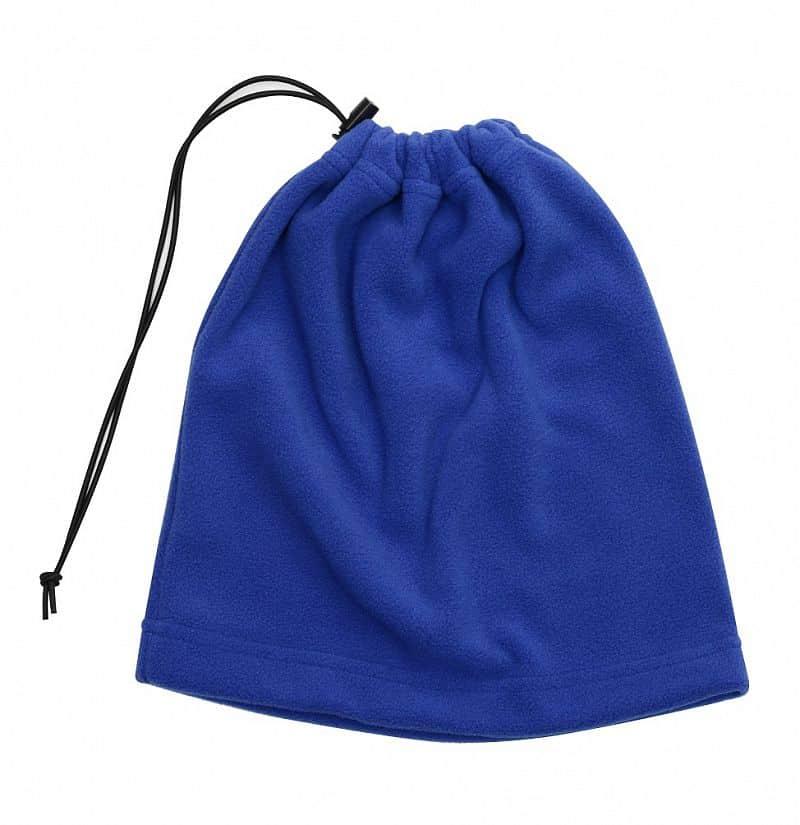 Multifunkční šátek 2v1 Fleece, modrý