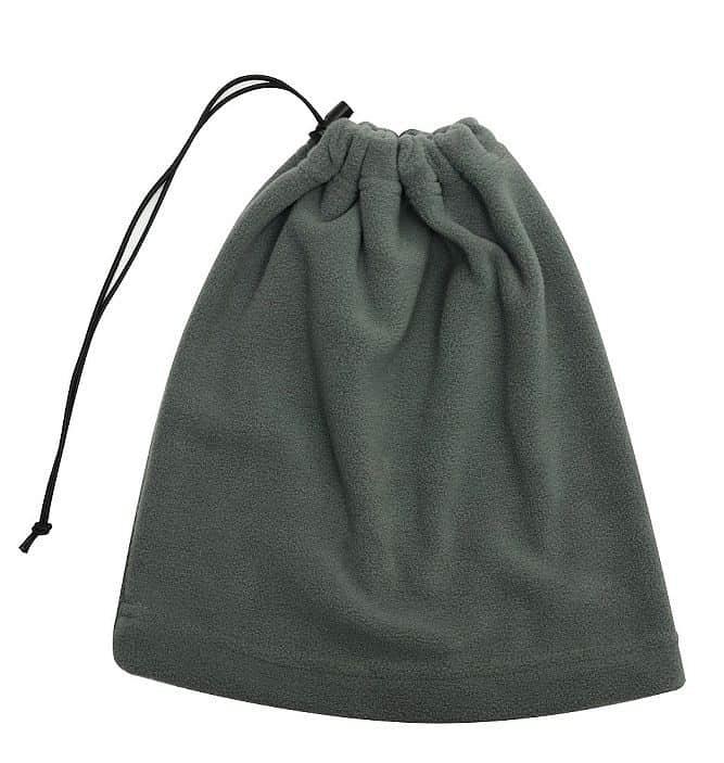 Multifunkční šátek 2v1 Fleece, šedý
