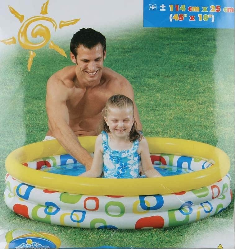 Nafukovací bazén Intex geometrický 114 x 25cm