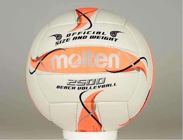 Volejbalový míč Molten BV 2500 - oranžový
