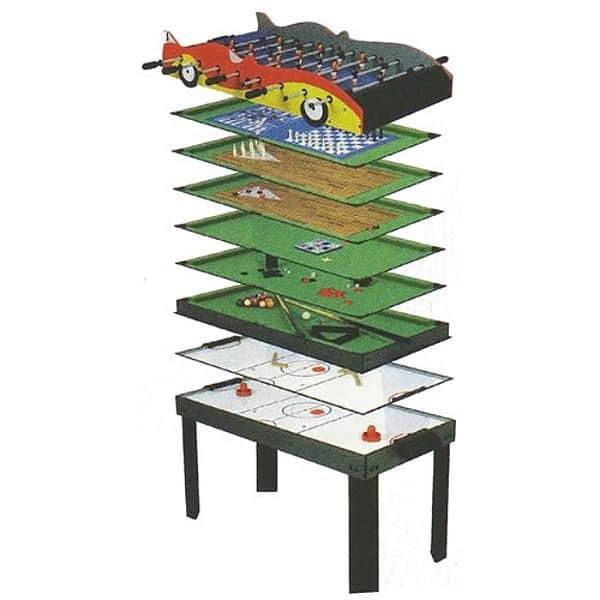 Hrací stůl SPARTAN 10 v 1