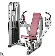 Posilovač prsních svalů a paží Body-Solid SPD-700G/2 - montáž zdarma, servis u zákazníka