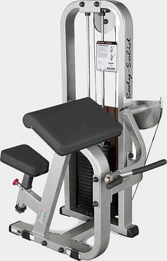 Posilňovač bicepsov Body-Solid SBC-600G / 2