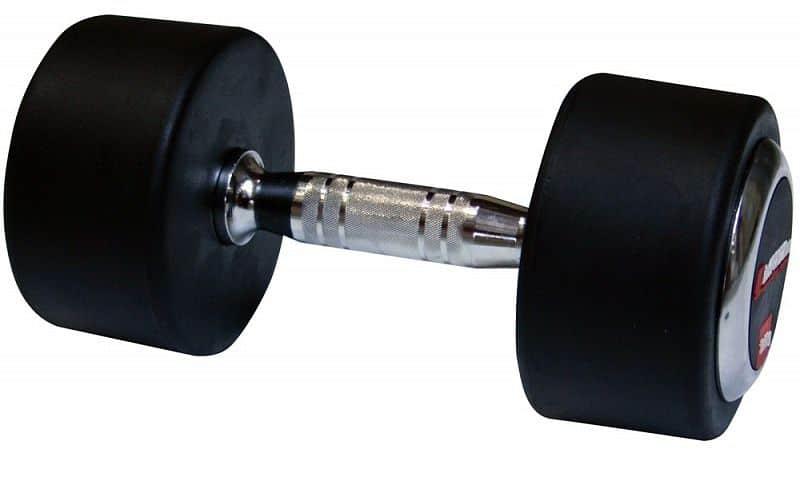 Profi pogumované jednoručky inSPORTline 10 kg