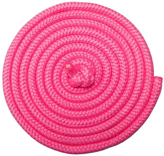 ACRA Gymnastické švihadlo 3m růžové