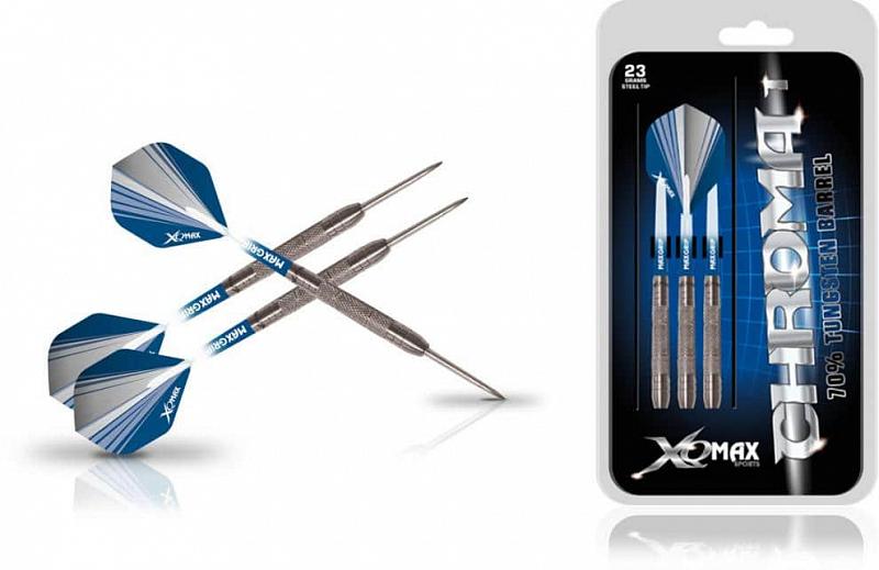Šipky XQ MAX Steel Chroma - 23g
