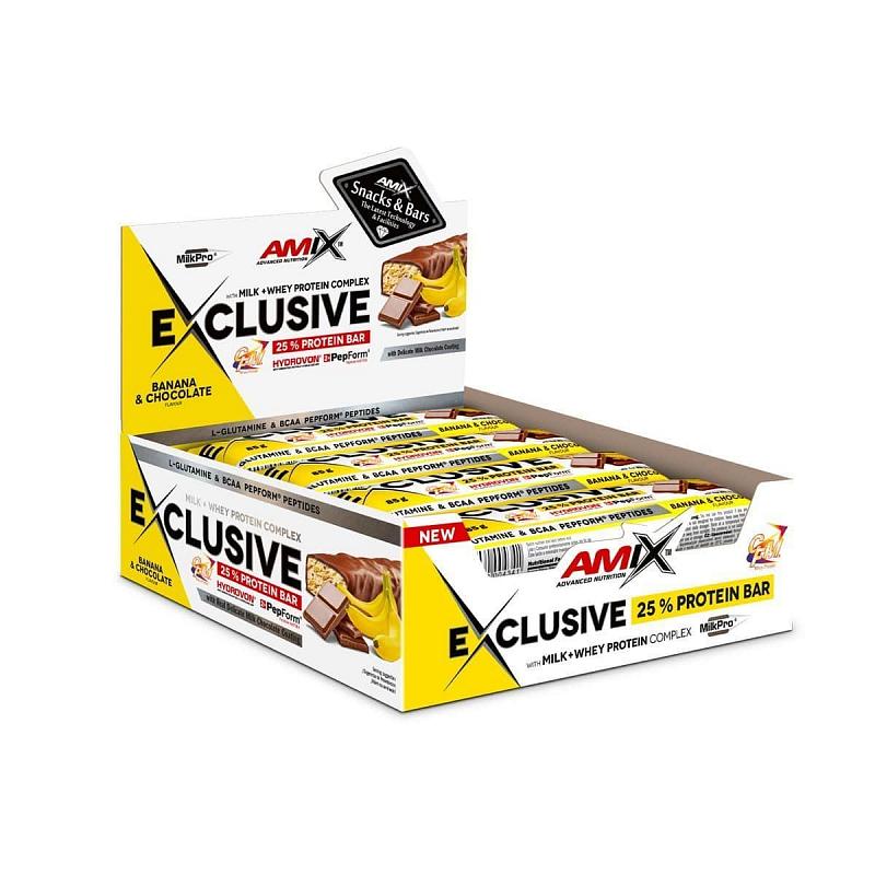 Exclusive Protein Bar Příchuť: Forest Fruit, Balení(g): 12x85g