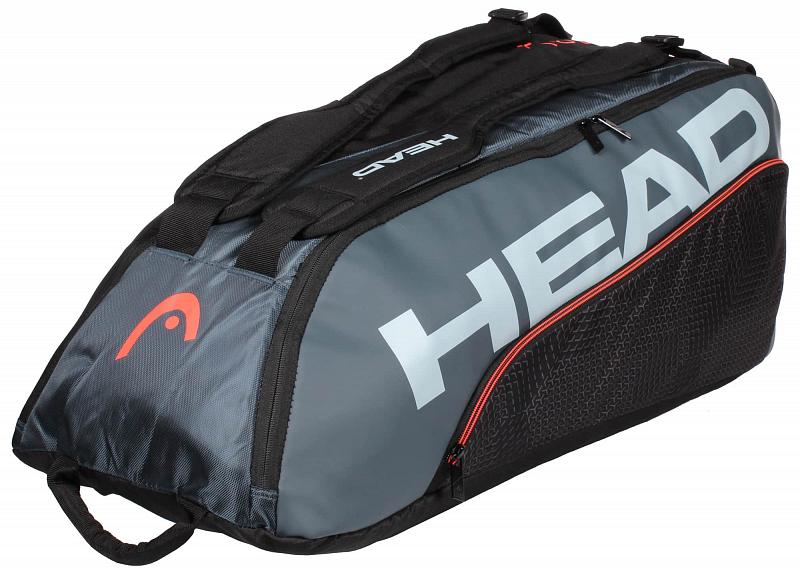 Tour Team 9R Supercombi 2020 taška na rakety barva: modrá