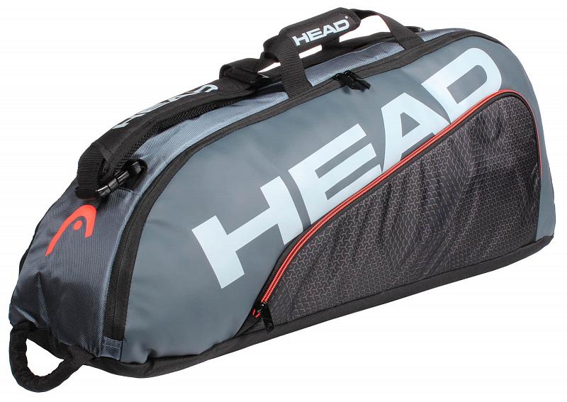Tour Team 6R Combi 2020 taška na rakety barva: modrá