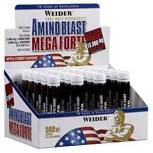 Amino Blast Mega Forte 20ampulí /25ml. - Weider
