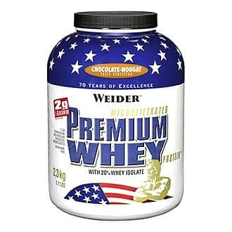 Premium Whey Protein 2,3kg - Weider Premium Whey Protein 2.3kg - fresh banana