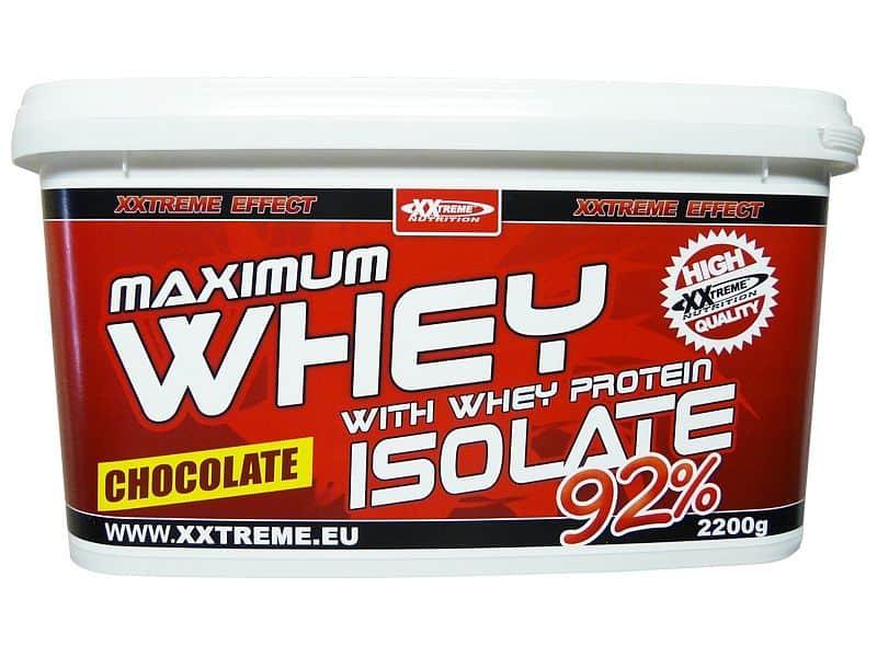 Maximum Whey Protein Isolate 92 - 2200g