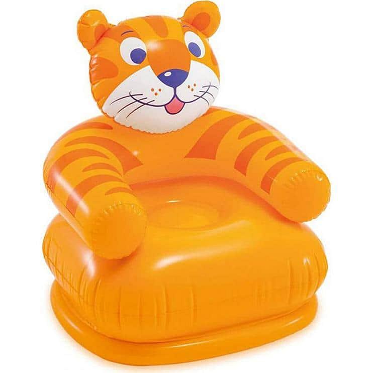 Levně Nafukovací dětské křesílko INTEX 68556 - Tygr