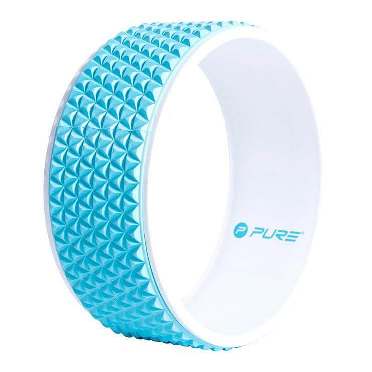 Jóga válec Pure2Improve 34 cm Modrý - Modrá