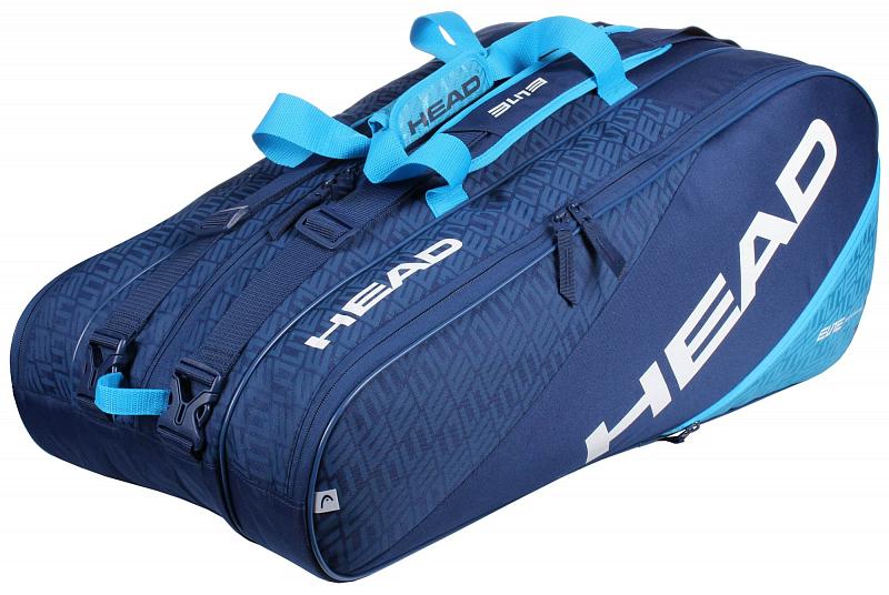 Elite 12R Monstercombi 2020 taška na rakety barva: modrá