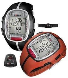 Polar RS300x G1 včetně snímače GPS černá