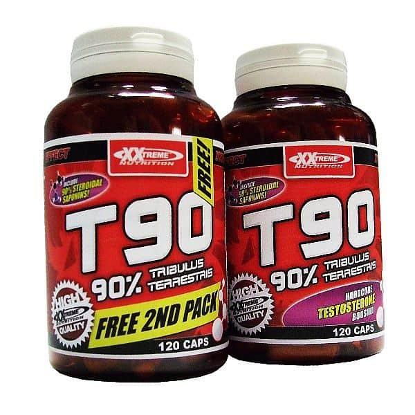 T90 - Extreme Testosterone Booster 1+1 zdarma 120kps. + 120kps. zdarma!