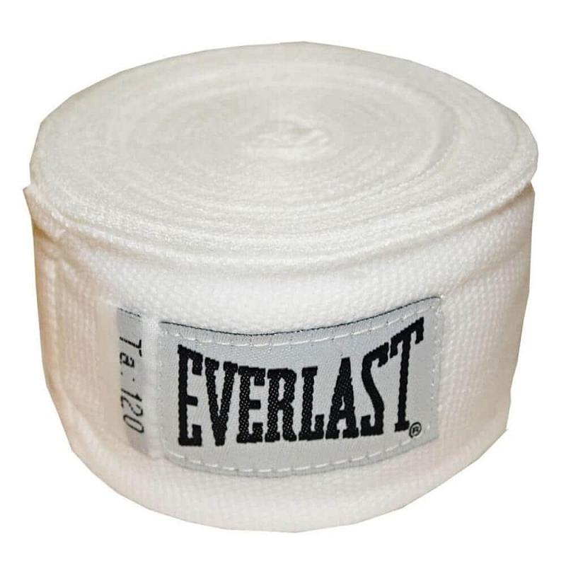Boxerské bandáže Everlast Pro Style Hand Wraps 300 cm Barva červená