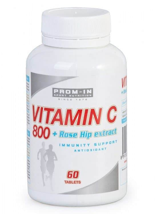 Vitamín C 800 + Rose Hip Extract