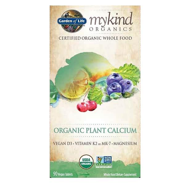 Mykind Organic Plant Calcium - rostlinný vápník 90 tablet