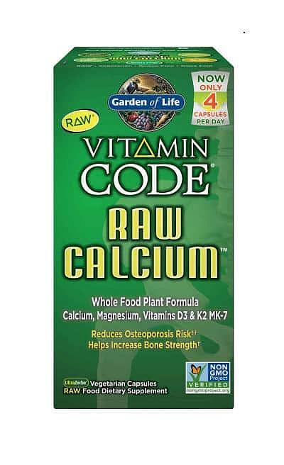 Garden of Life Vápník - RAW - 60 kapslí