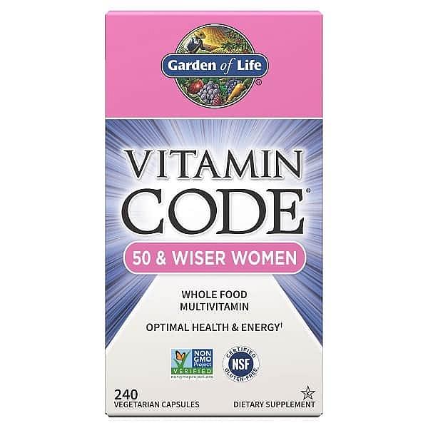 Garden of Life Vitamin Code RAW - pro ženy po padesátce 120 kapslí