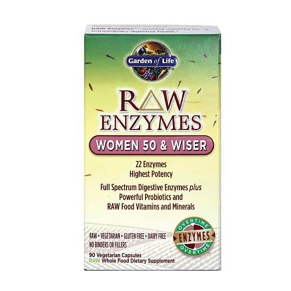 RAW Enzymy Women 50 & Wiser - pro ženy po padesátce