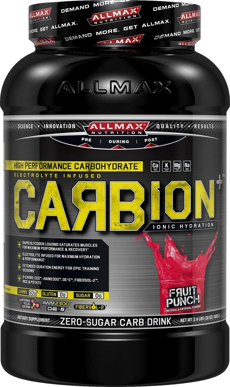 Allmax CarbiON Příchutě: Ovocný punch, Hmotnost: 1090g